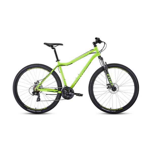 Велосипед 29` Forward Sporting 29 2.0 disc Ярко-зеленый/Черный 20-21 г