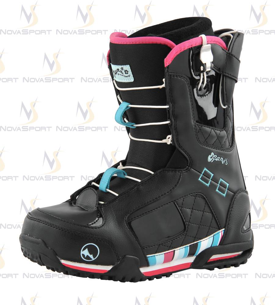 Ботинки для сноуборда TRANS Girl Park black