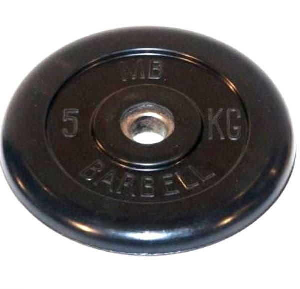 Диск Bestway обрезиненный литой черный 51 мм 5 кг
