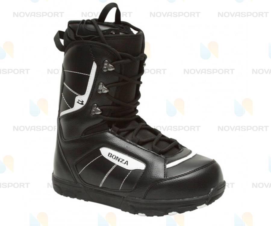 Сноубордические ботинки Bonza Zombie men black/white