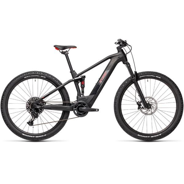 Велосипед CUBE STEREO HYBRID 120 PRO 625 29 (black`n`red) 2021