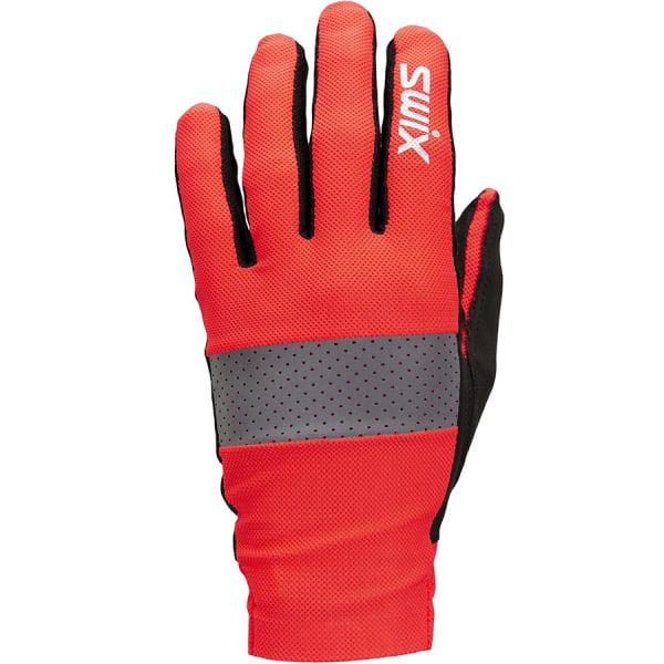 Лыжные перчатки Radiant H0200/90015 красный неон