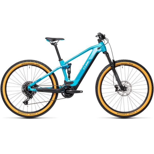 Велосипед CUBE STEREO HYBRID 120 PRO 500 29 (petrol`n`blue) 2021