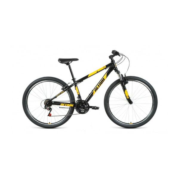 Велосипед 27,5` Altair AL 27,5 V 21 ск Черный/Оранжевый 20-21 г
