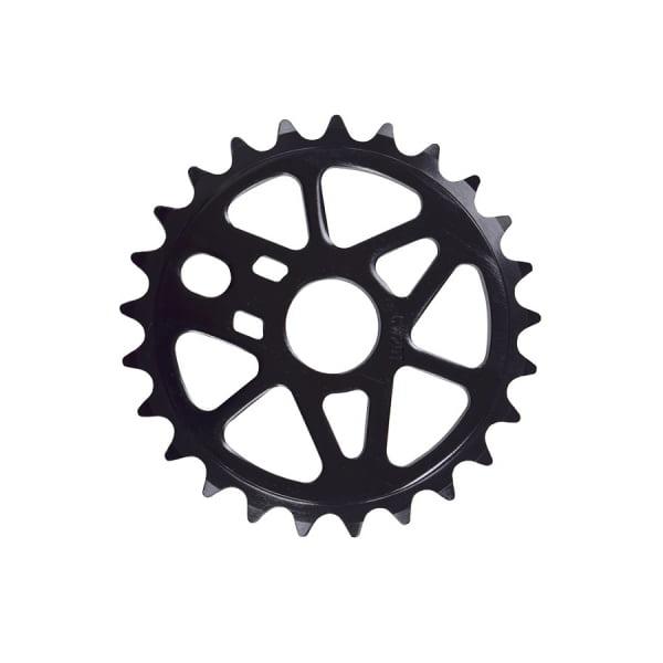 Звезда на 25 зубьев алюм чёрн, для шатунов BMX (Siber, Viper 2020)/580288