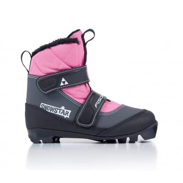 Ботинки NNN Fischer SNOWSTAR PINK S41117