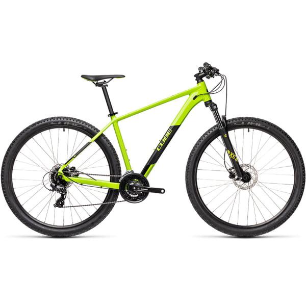 Велосипед CUBE AIM PRO 29 (green`n`black) 2021