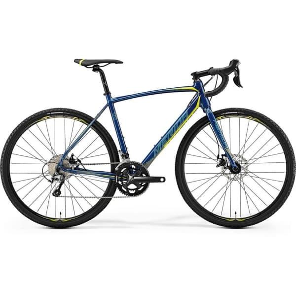 Велосипед Merida CycloCross 300 Petrol (Yellow/Lite Teal) 2019