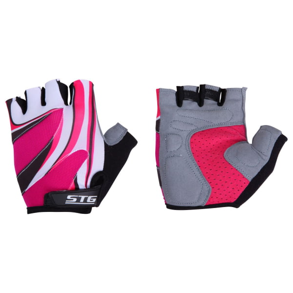 Велоперчатки STG Летние  Красные Х61901