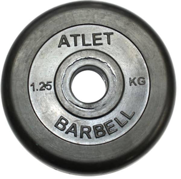 Диск Bestway обрезиненный черный 26 мм 1,25 кг