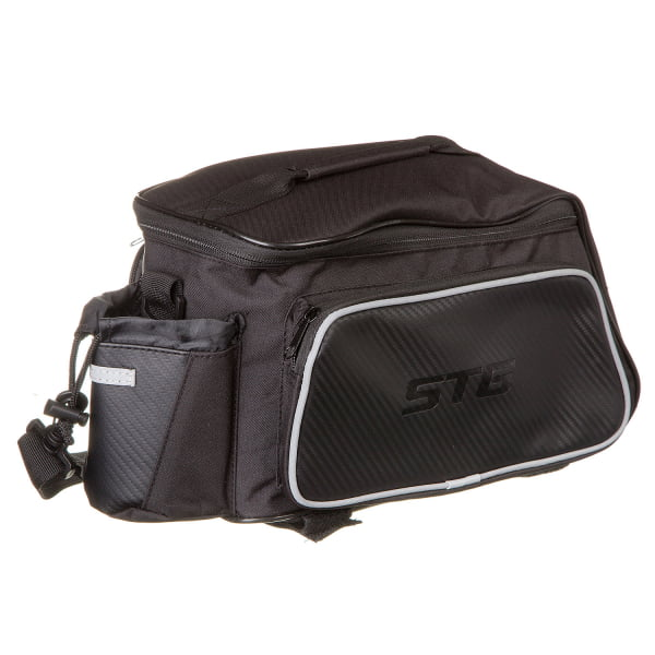 Велосумка STG  131397 на багажник, черная Х88301