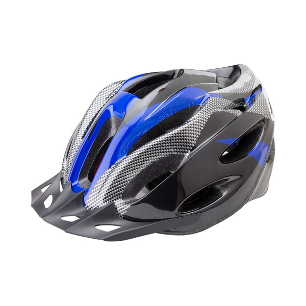 Шлем защитный FSD-HL021 (out-mold) L (58-60 см) чёрно-синий/600122