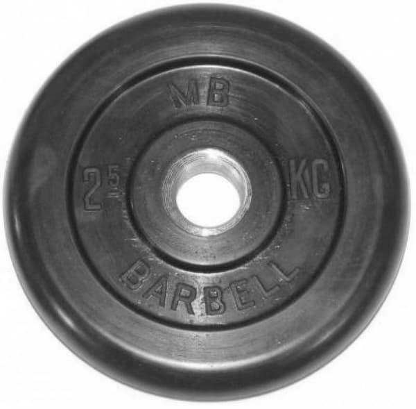 Диск Bestway обрезиненный литой черный 51 мм 2,5 кг