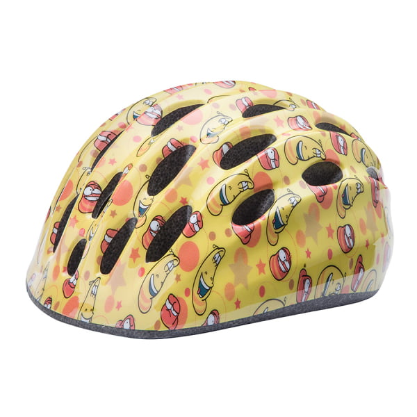 Шлем защитный HB10 желто-красный M/600253