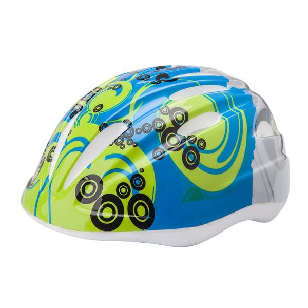 Шлем защитный HB6-3_d (out-mold) серо-сине-салатовый S/600109