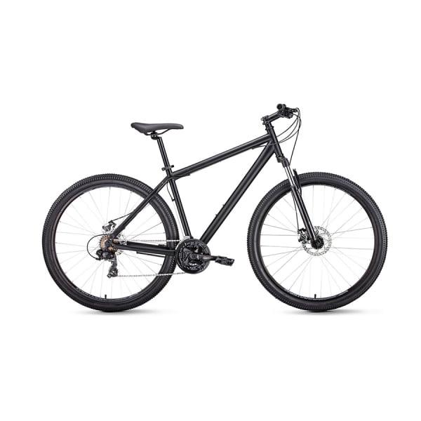 Велосипед 29` Forward Sporting 29 2.1 disc Черный матовый/Черный 20-21 г