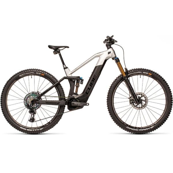 Велосипед CUBE STEREO HYBRID 140 HPC SLT 625 Nyon 29 (carbon`n`prizmsilver) 2021