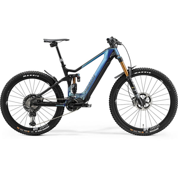 Велосипед Merida eOne.Sixty 10K GlossySparklingBlue/MattBlack 2021
