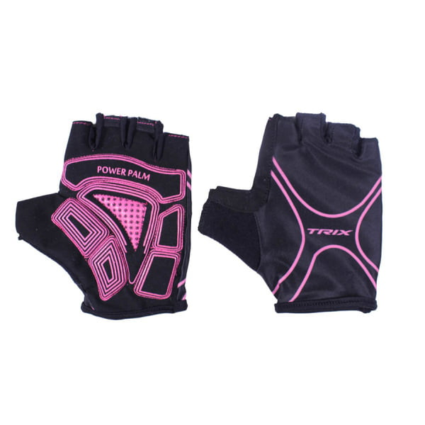 Велоперчатки Trix LCL-60020 Pink