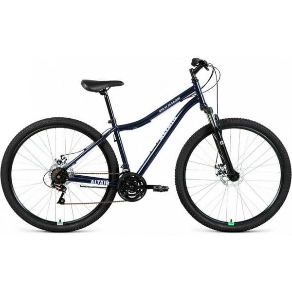 Велосипед 29` Altair MTB HT 29 2.0 disc 21 ск Темно-синий/Серебро 20-21 г