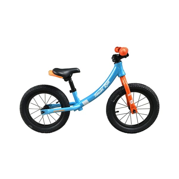 Велосипед Stark`19 Tanuki Run 14 голубой/оранжевый/белый H000014232