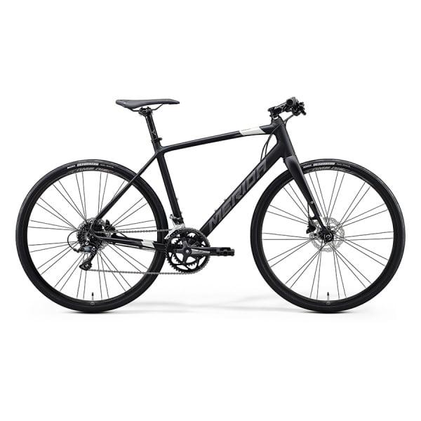 Велосипед Merida Speeder 200 MattBlack/DarkSilver 2021