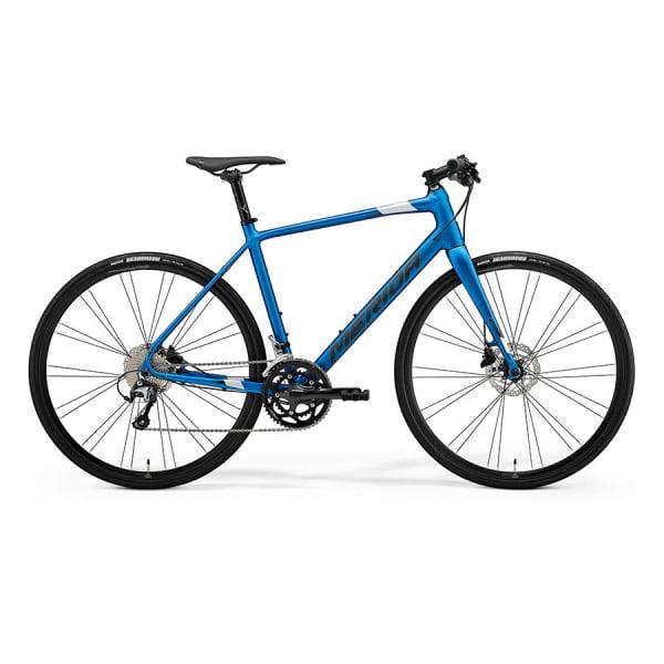 Велосипед Merida Speeder 300 SilkBlue/DarkSilver 2021