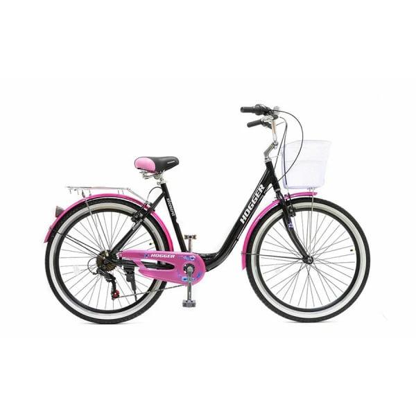 Велосипед 26` Hogger SIGOURA V Черно-розовый